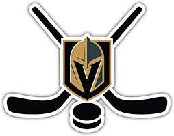 Amazon Com Hotprint Golden Knights Hockey Vegas Sticks Sport Car Bumper Sticker Decal 5 X 4 Kitchen Dining