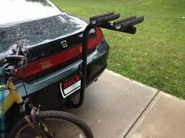 receiver hitch bike rack diy