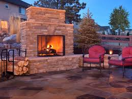plan for building an outdoor fireplace