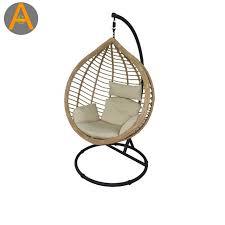 patio pear shape outdoor rattan swing