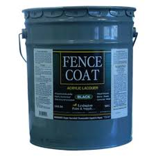 Lexington Fencecoat Acrylic Lacquer Fence Paint 5 Gal Black At Tractor Supply Co