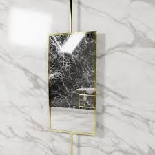 ceiling mounted mirror swivel