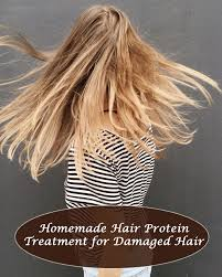 hair protein treatment for damaged hair