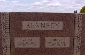 Iva Lee McWhorter Kennedy (1883-1966) - Find A Grave Memorial