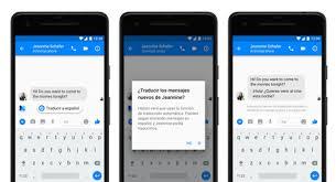 facebook messenger añade un traductor