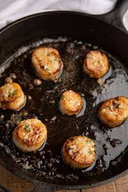 Pan Seared Scallops (Browned Butter ...