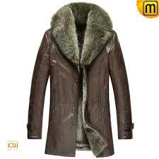 italian leather fur coat