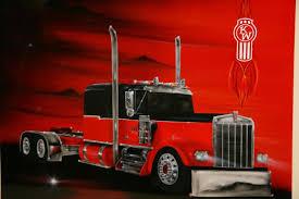 kenworth semi tractor transport
