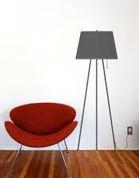 Tripod Lamp Wall Decal Vinyl Wall Sticker Lamp Blik