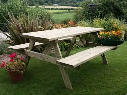 garden furniture clearance display