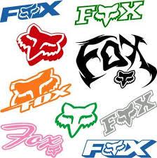 Fox Racing Vinyl Decals And Stickers Vinyl Decals Vinyl Stickers Window Decals Window Stickers Fox Decal Biker Quotes Vinyl Decals