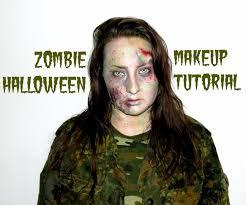 zombie halloween makeup tutorial 16