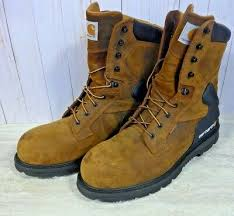 steel toe oil tanned work boot size 14m