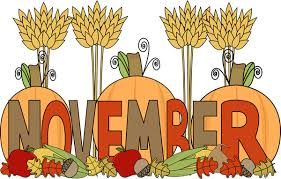 Image result for november clipart