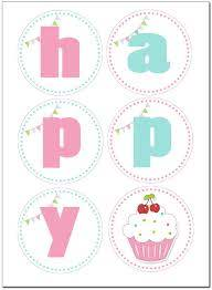 Cupcake Birthday Party With Free Printables Con Imagenes