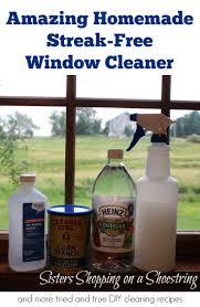 vinegar window cleaner amazing and