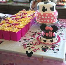minnie mouse birthday party cute diy