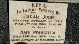 Amy Priscilla King (Eatts) (1892 - 1979) - Genealogy