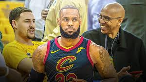 Cavs news: Klay Thompson's dad, Mychal, reacts to LeBron James' game winner  vs. Raptors