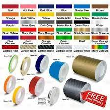 Roll Pin Stripe Pinstriping Trim Self Adhesive Line Tape Car Decal Vinyl Sticker Ebay
