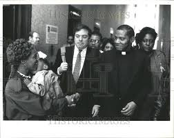 1992 Press Photo Reverend Paul Hall Sex Abuse Conviction Chicago | Historic  Images