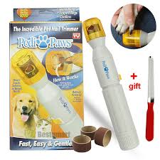 pedi paws nail trimmer grinder grooming