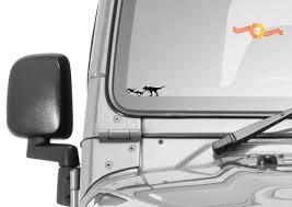 Jeep Windshield T Rex Tyrannosaurus Rex Sticker Dinosaur Easter Egg Companion Vinyl Decal
