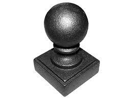 Cast Iron Ball Post Caps Custom Iron Works
