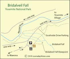 bridalveil fall sierra day hikes