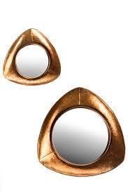 becky copper mirrors set of 2