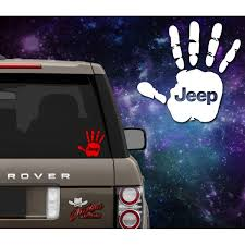 Jeep Wave Decal Outlaw Decals