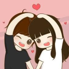 love pic couple cartoon