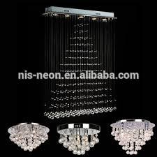 crystal pendant ceiling light