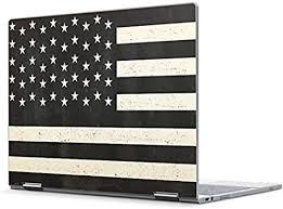 Amazon Com Skinit Decal Laptop Skin Compatible With Pixelbook Originally Designed Black White Usa Flag Design Electronics