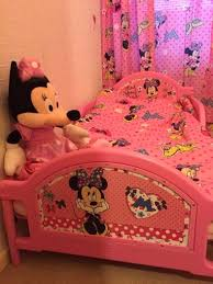 minnie mouse toddler bed curtains