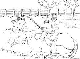 Kleurplaat Sport Kleurplaat Paardrijden Animaatjes Nl