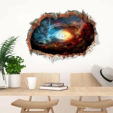 4 Styles New Fashion Outer Space Planets 3d Window Wall Stickers Cosmic Galaxy Wall Decals For Kids Room Baby Bedroom Decals For The Wall Decals For The Walls From Qiansuning88 7 96 Dhgate Com