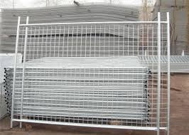 Nz Standard Temporary Fencing Panels 2 1m X 3 0m Mesh 60mm X 150mm With A 3 00mm Wire Diameter