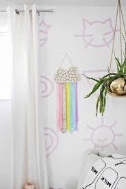 Kid S Ribbon Rainbow Wall Hanging Diy A Beautiful Mess