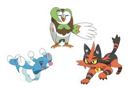 Meet Pokémon Sun and Moon's starter Pokémon and first evolutions ...