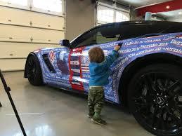 Corvette Covered In Bernie Sanders Stickers Business Insider