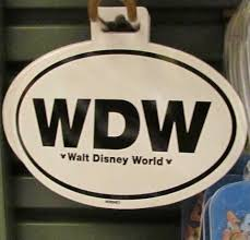 00 Wdw Car Sticker The Disney Blog