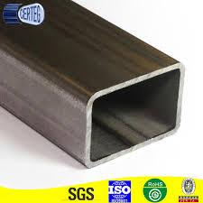 China Iron Tubing Rectangular Steel Tube For Fence Post Pipe China Rectangular Steel Tube Rectangular Tube