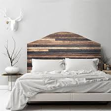 Amazon Com Amazingwall Bed Headboard Sticker Wall Decal Art Mural Wallpaper Self Adhesive Diy Home Decoration Home Kitchen