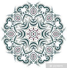 Mandala Henna Wall Mural Pixers We Live To Change