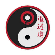 Yin Yang Symbol Peace Red Japanese Car Sticker Decal Funny Etsy