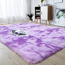 Amazon Com Purple Rugs Kids Room Decor Home Kitchen