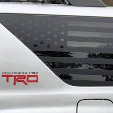 Toyota 4runner Precut American Flag Window Decals 2003 2009 Xplore Offroad Xplore Offroad Stand Out From The Crowd Jeeps Trucks Suvs 4x4s