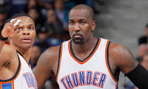 Kendrick Perkins: Identity was team's top issue when he was with OKC