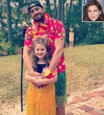 Hillary Scott's Daughter Has a 'Luau' with Dad Chris Tyrrell | PEOPLE.com